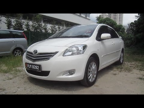 2011 Toyota Vios 1.5 G Start-Up and Full Vehicle Tour