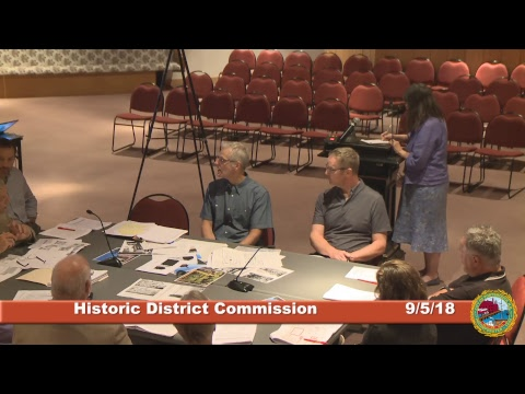 Historic District Commission 9.5.18