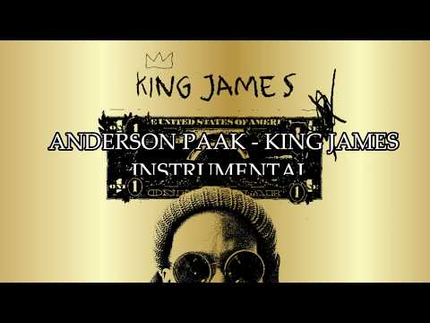 Anderson Paak  - King James Instrumental (Remake By YBF Productions)