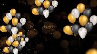 birthday celebration background video | anniversary motion background | wedding, party background hd