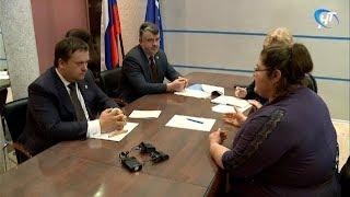 Глава региона Андрей Никитин провел прием жителей области по личным вопросам