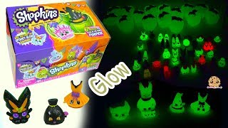 Spooky Glow In The Dark Shopkins Halloween Surprise Blind Bags Box
