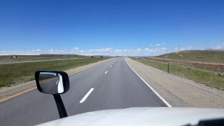 BigRigTravels LIVE! - Rawlings to Fort Bridger, Wyoming - Interstate 80 - May 22, 2017