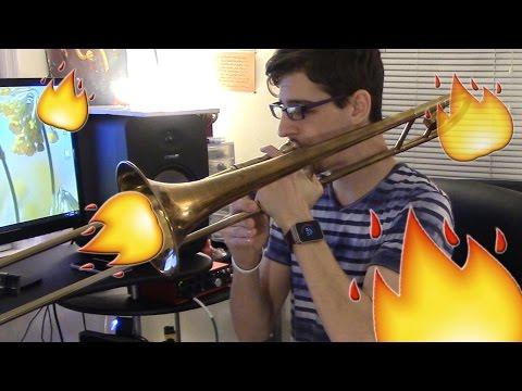 Mask Off Challenge on Trombone