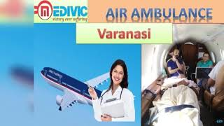 Get Earliest Air Ambulance Service in Gorakhpur and Varanasi