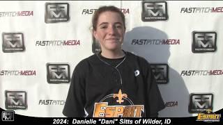 2024 Danielle 'Dani' Sitts Pitcher Softball Skills Video - Esprit Fastpitch