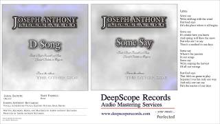 Joseph Anthony Ricciardo - D Song Some Say (Music, Credits and Lyrics)