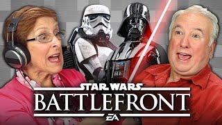 ELDERS PLAY STAR WARS BATTLEFRONT (Elders React: Gaming)