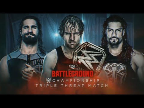 WWE Battleground Promo 2016 - Dean Ambrose vs Seth Rollins vs Roman Reigns