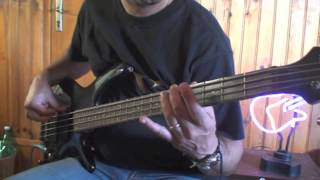 Walking in the Shadow - ACCEPT - Bass Cover