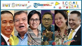 Ucapan HUT ke-8 Tribunnews dari Para Tokoh Indonesia