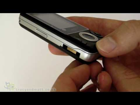 Sony Ericsson W205 unboxing video
