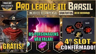Recompensas da Final da Pro League 3, Vozes dos Personagens, 4º Slot de Habilidade e MAIS