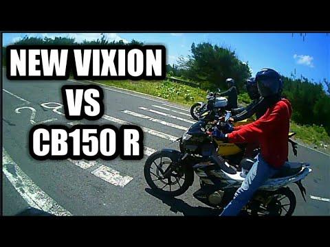 Download Drag Vixion Vs New Cb150r Vs R15 Video 3GP Mp4 FLV