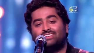 Atif Aslam VS Arijit Singh LIVE Full Performance at GIMA Awards 2018 - TOP 20 SONGS