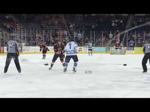 Sawyer Hannay vs. Brett Lyon