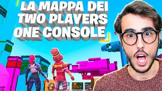 LA MAPPA DEI TWO PLAYERS ONE CONSOLE SU FORTNITE!