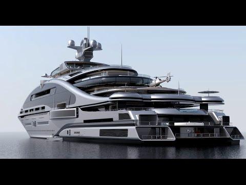 #Laraki Prelude 163m Superyacht#LIVE RICH