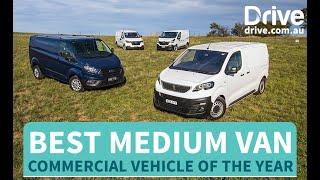 2019 Best Medium Van | Peugeot Expert v Ford Transit v Hyundai iLoad v Renault Trafic