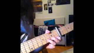 "How to play ""New Town"" Velocity by Johnny Marr"