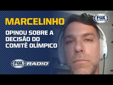 OLIMPÍADAS ADIADAS! Marcelinho, medalhista olímpico com a Seleção de Vôlei, no FOX Sports Rádio
