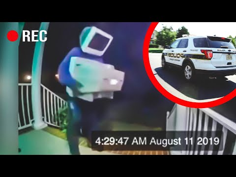 Why Is This Person Leaving Old TV's on Doorsteps?! (FULL VIDEO)