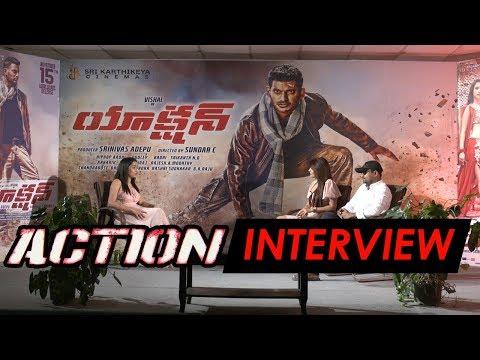 akanksha-puri-and-srinivas-interview-about-action