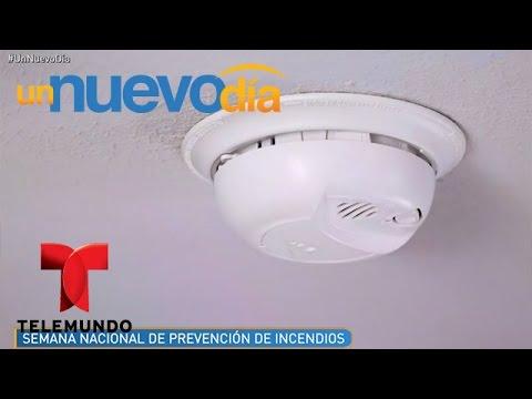 La importancia de utilizar un detector de humo | Un Nuevo Día | Telemundo