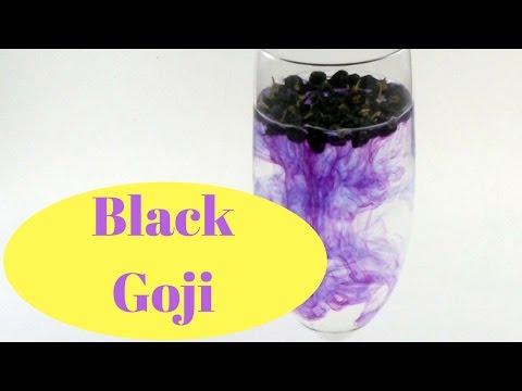 Schwarze Goji Beeren Black Goji Berries die Frucht mit dem höchsten OPC Gehalt der Welt