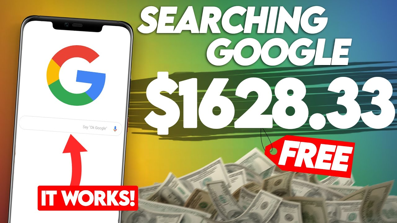Make $1,600+ Searching Google (WORKING ✅) | Make Money Online thumbnail