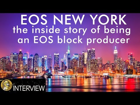 EOS New York - The Truth About Being a Key Player in the Crypto Economy