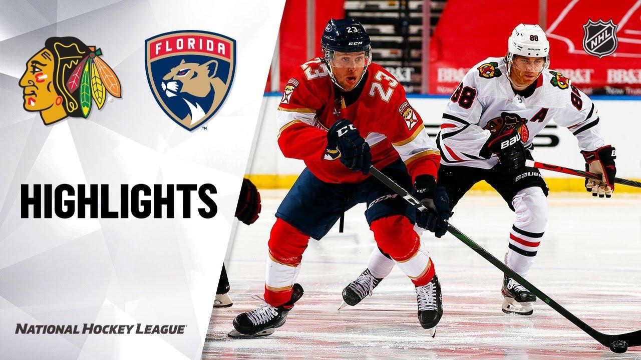 Blackhawks vs Panthers | Sunday, January 17, 2021