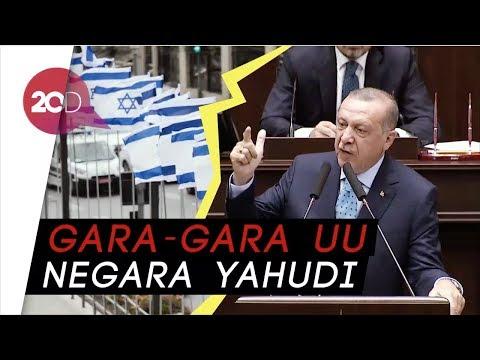 Saat Erdogan Kesal dan Sebut Israel Seperti Nazi