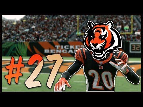 William Jackson vs. Antonio Brown Once Again | Madden 20 Cincinnati Bengals Franchise #27
