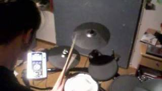 Zimmers Hole - Satan Is A Gay Porno Star on drums.
