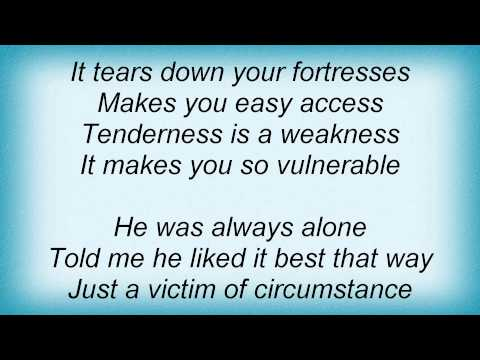 Marc Almond - Tenderness Is A Weakness Lyrics