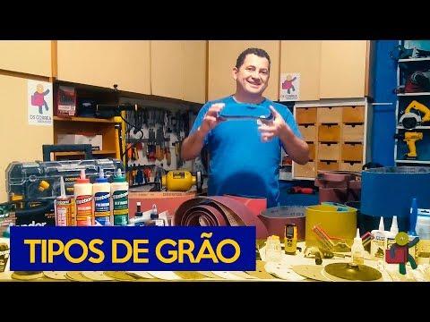 TIPOS DE GRÃO DAS LIXAS   Quais são?