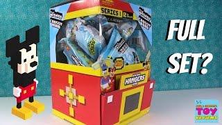 Disney Crossy Road Mystery Backpack Hangers Series 1 Blind Bag Toy Opening | PSToyReviews