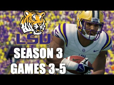 WHAT WILL HAPPEN WHEN A TOP 5 TEAM PLAYS LSU? NCAA FOOTBALL 14