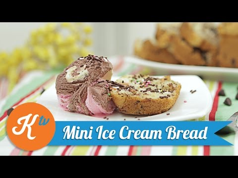 Video Resep Mini Ice Cream Bread | LADY DE LAURA