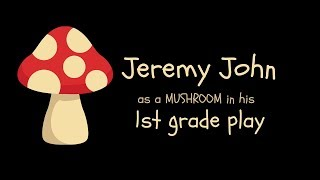 The Perfect Part: Jeremy Rocks His Mushroom Role