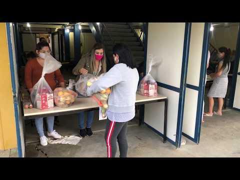 """Prefeitura de Navegantes entrega """"Kit de Alimentação Merenda Escolar em Casa"""""""