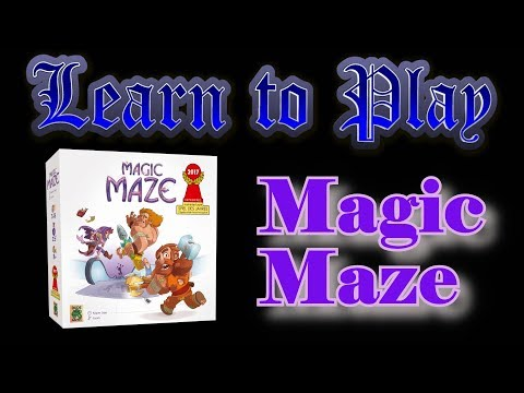 Learn to Play: Magic Maze