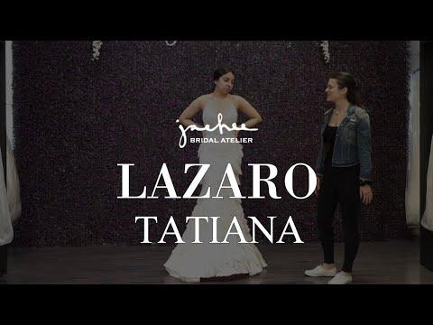 Lazaro TATIANA - Bridal Gown Real Review Wedding Dress | Jaehee Bridal