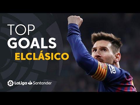 TOP Goals FC Barcelona ElClásico 2009 – 2019