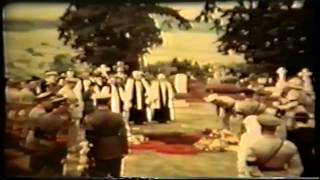 Funeral do Lord Baden Powell - Chefe Mundial do Escotismo