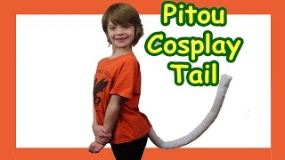 Cosplay How to make a Cat Tail tutorial - Hunter x Hunter Pitou - Day 591 | ActOutGames
