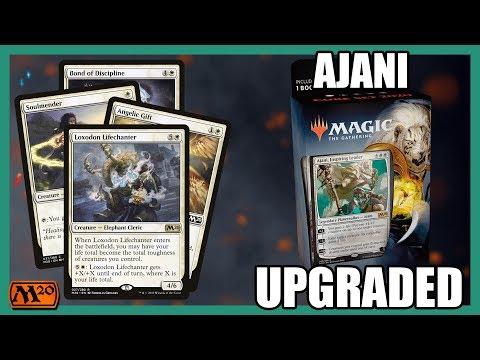 Core Set 2020 Ajani Planeswalker Deck Upgrade | Magic: The Gathering