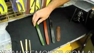 Faceting Class: How to Dop With CA (superglue) - YouTube