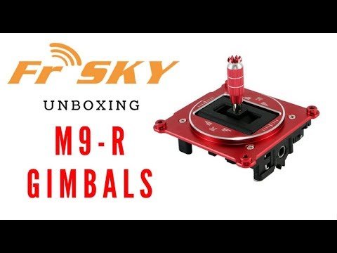 NEW! FrSky M9-R Gimbal Unboxing and overview